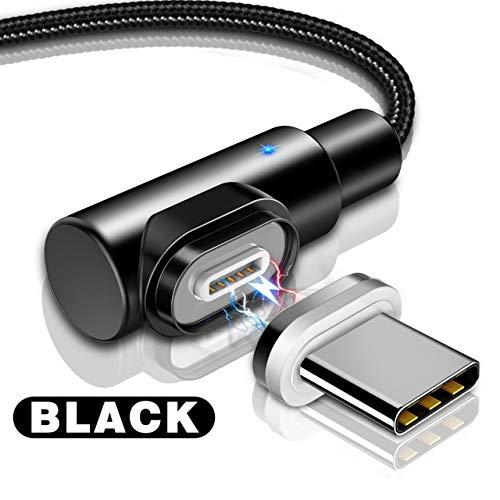i-Tronixs - Cavo di Ricarica e sincronizzazione Dati USB per ASUS Transformer Pad TF103C, 1 m, ad Angolo retto, 90 Gradi, a Forma di L, Colore: Nero