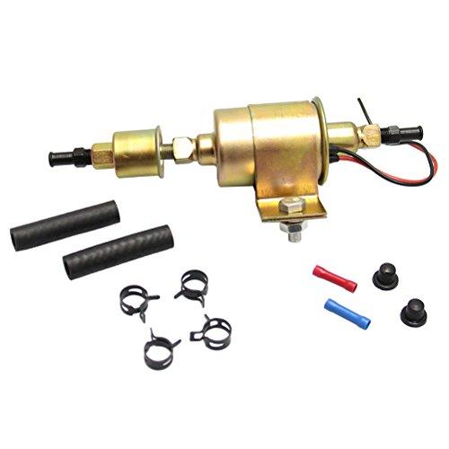Inline Elektrische Kraftstoffpumpe, 12 V, Universal, Metall, massiv, Diesel, Benzin, Niederdruck für Autos, 5-9 PSI