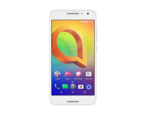 Preisvergleich Produktbild Alcatel A3 Smartphone (12, 7 cm (5 Zoll) Display,  16 GB Speicher,  Android 6.0) weiß