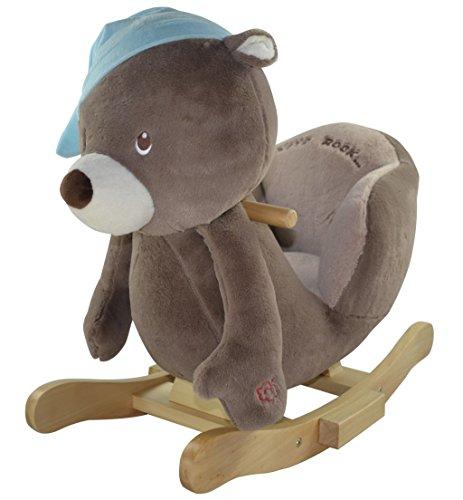 Sweety Toys 4829 Schaukeltier Schaukelpferd Bär Oscar Oscar The Rocking Bear  supersüss,sehr hochwertige Ausführung mit Funktion Lullaby Lied