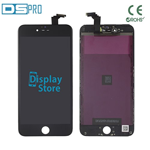 DS PRO - Pantalla Compatible con iPhone 6 Plus (Pantalla LCD AAA Negra)