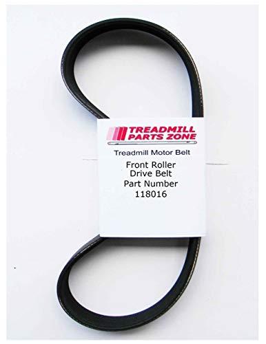TreadmillPartsZone Replacement for Pro Form 535LE Treadmill Model 298800 Motor Belt Part 118016