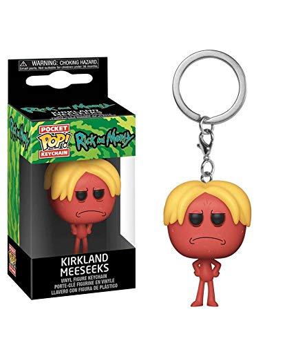 Popsplanet Funko Pop! Keychain – Animation – Rick And Morty Season 4 – Kirkland Meeseeks Keychain Vinyl Pocket Figure 4 cm Released 2019