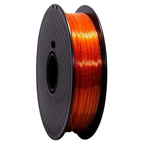 Wanhao Filament Premium PET Orange 1kg 1.75mm - Filter for 3D Printers