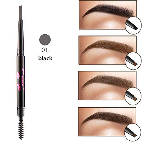 Makeup-Ruwhere di precisione impermeabile sopracciglia doppio chiuso con sopracciglio matita con pennelli strumenti (1)