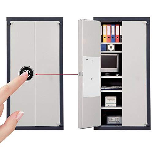 G15 Vingerafdruk Elektrisch slot Draadloos Biometrisch Keyless Hangslot voor Office Home Bank Lade Schoenenkast