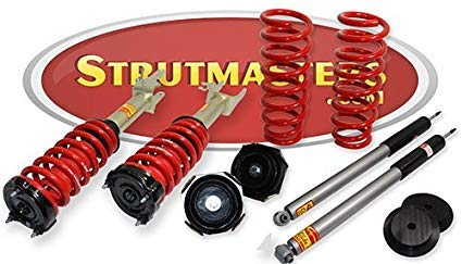 Strutmasters 4 Wheel Air Suspension Conversion Kit for 2003-2009 Mercedes Benz E320 4MATIC Sedan