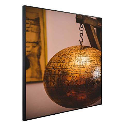 Ecowelle Infrarotheizung mit Bild | 350 Watt | 60x60 cm | Infrarot Heizung| | Made in Germany| (1) i 190 Globus