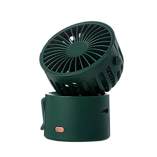 N\C F852 Variety Small Fan Lightweight Mini Can Hang Neck, Waist Can Be Hung, Desktop 45° Up and Down Air Supply