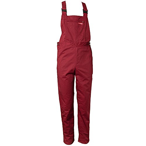 Planam Latzhose MG 260 50 Bordeaux