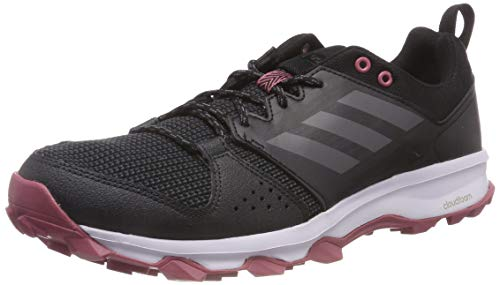 adidas Galaxy Trail, Zapatillas de Running Mujer, Negro (Core Black/Grey Five F17/Trace Maroon), 45 1/3 EU