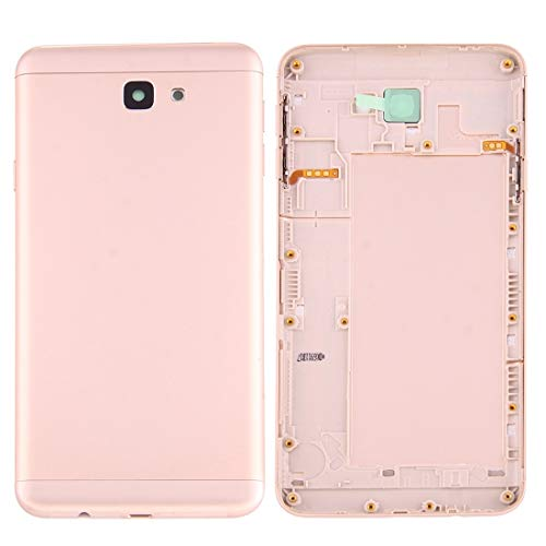 DaiMai Tapa trasera de batería para Galaxy J7 Prime / G6100, carcasa trasera de repuesto (dorado) WH (color: dorado)
