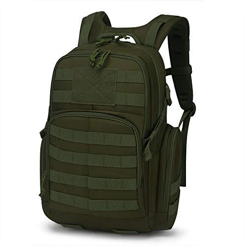 Mardingtop Tactical Backpack/Molle Pack/Military Rucksacks/Military Bag for Hunting Shooting Camping Hiking Trekking Traveling(Black)
