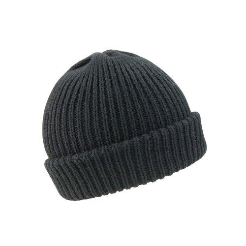 Result - Bonnet tricoté Whistler - Adulte unisexe (Taille unique) (Noir)