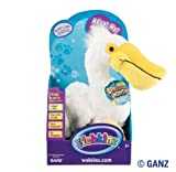 Webkinz Pelican Pet Of The Month For September 2011 + Free Pack Of Beach Shapes Silly Bandz.The ORIGINAL Ones That Are UV Activated And Turn Colors In The Sun!!! by Ganz