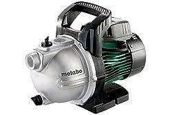 Metabo Gartenpumpe P 4000 G (600964000) Karton, Nennaufnahmeleistung: 1100 W, Max. Fördermenge: 4000 l/h, Max. Förderhöhe: 46 m