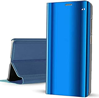 For Xiaomi Redmi K30 / Poco X2 Clear View Standing Not Smart With Out Sensor - Blue