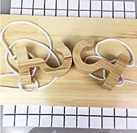 XCY 耐久性のある収納ラック 収納ラック 収納棚 サスペンション ウッド シンプル ラック クリエイティブ シューラック ハンギング 子供 's シューラック ホワイト ロープ、ピンク ロープ、ブルー ロープ、グレー ロープ 15.7 * 7.9 * 39.4インチ,ホワイトロープ