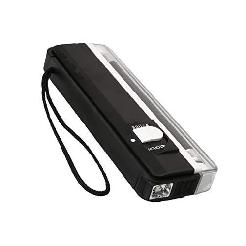 BANGNA Detector de Dinero portátil Fluorescente Violeta, luz UV con Linterna, pequeño bolígrafo Falso