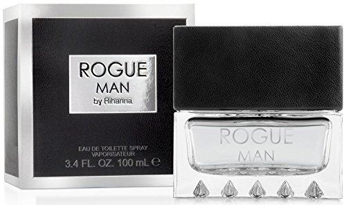 Rihanna Rogue Cologne For Men, 3.4 Ounces
