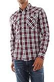 Levi's Barstow Western Camisa Casual de Manga Larga, Bodhran Crimson, S para Hombre