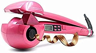 Automatic Hair Curlers Ceramic Curling Iron Professional Rotating Wavy Hair Curler for Wet and Dry Hair with LED Digital Display