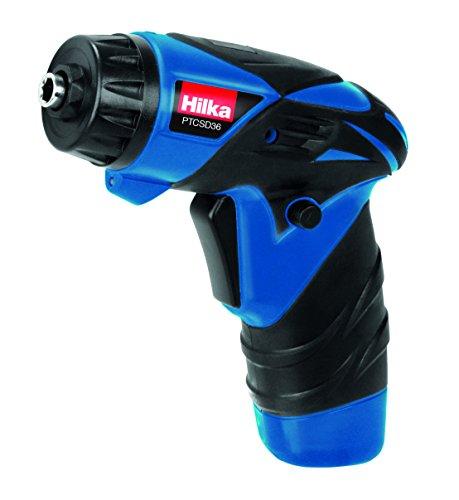Hilka Tools PTCSD36 Li-Ion Cordless Screwdriver, 3.6 V, Black/Blue