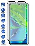 Todotumovil Protector de Pantalla Xiaomi Mi Note 10 Lite Negro Cristal Templado Completo Curvo Vidrio 9H para movil
