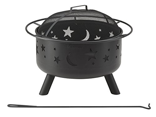 Landmann Feuerkorb Stars & Moon, schwarz