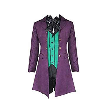 Nanrui Trade Black Butler 2 Cosplay Costume Various Styles of Costumes Halloween Costumes  M Alois Trancy