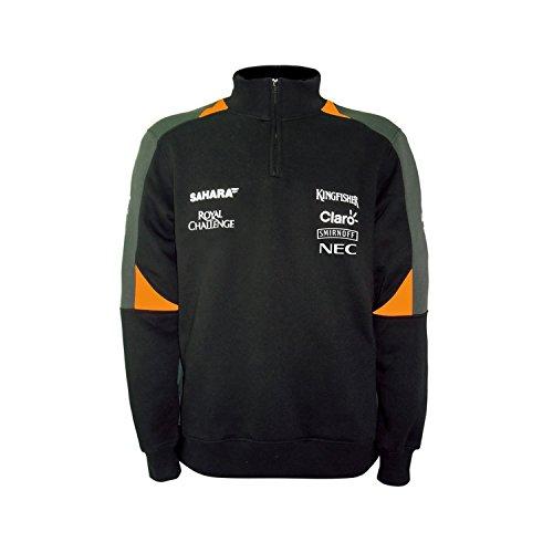 Sahara Force India F1 Team - Sudadera con media cremallera para hombre