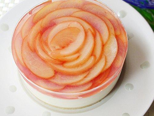 フロム蔵王『桃のレアチーズケーキ』