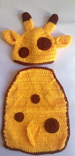 Giraffe, Newborn Baby Mädchen Boy/crochet Knit Kostüm Foto Fotografie Prop Hüte Outfits