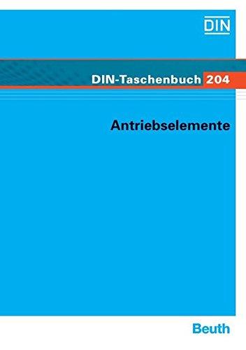 Antriebselemente: Normen (Antriebstechnik 5) (DIN-Taschenbuch)