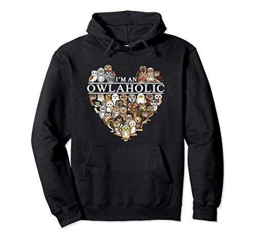I'm an owlaholic Pullover Hoodie