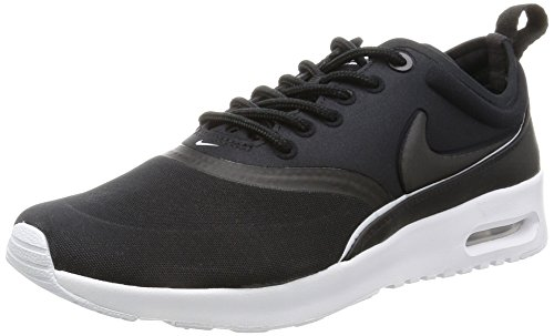 Nike W Air MAX thea Ultra, Zapatillas de Running Niñas, Negro (Negro (Black/Black-White-Dark Grey), 36 1/2