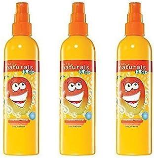 3 x Avon Naturals Kids pelo Tamer/desenredante spray x 200ml