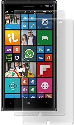 ENERGMiX Matt Folie kompatibel mit Nokia Lumia 830 (2 Stück) Schutzfolien Matt Folien Displayfolien