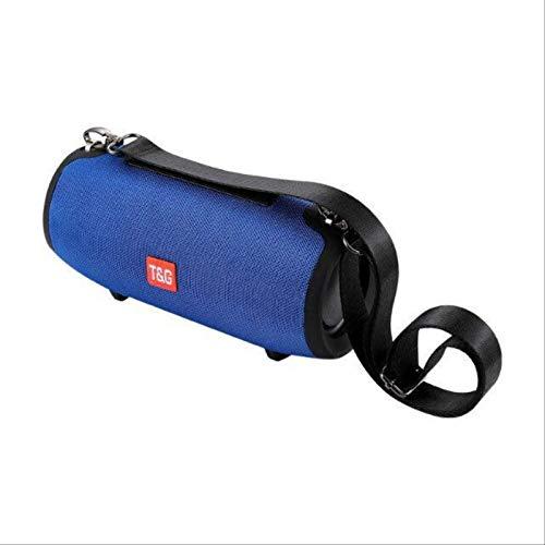 TG Pequeño Tambor De Guerra Al Aire Libre Impermeable Inalámbrico Bluetooth Altavoz Correa Portátil Mini Tela Grande Xtreme Azul