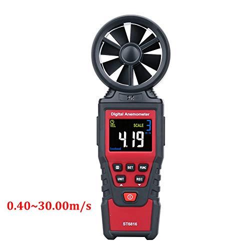 DZSF Digital-Anemometer Windgeschwindigkeit Meter Luftgeschwindigkeit Durchflussmesser Thermometer Windgeschwindigkeit Messgeräte Airflow Sensor Messgerät