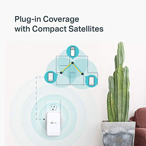 TP-Link Deco Whole Home Mesh WiFi System – Up to 4,500 Sq. ft Coverage, WiFi Router/Wi   Fi Extender Replacement, Seamless Roaming, Parental Controls, Plug-in Design, Works with Alexa (Deco M3 3-Pack)
