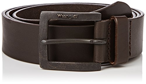 Wrangler Kabel Buckle Ceinture, Marron (Brown), 100 Homme