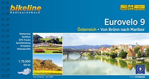 Bikeline Radtourenbuch Eurovelo 9: Von Brünn nach Maribor, 568 km