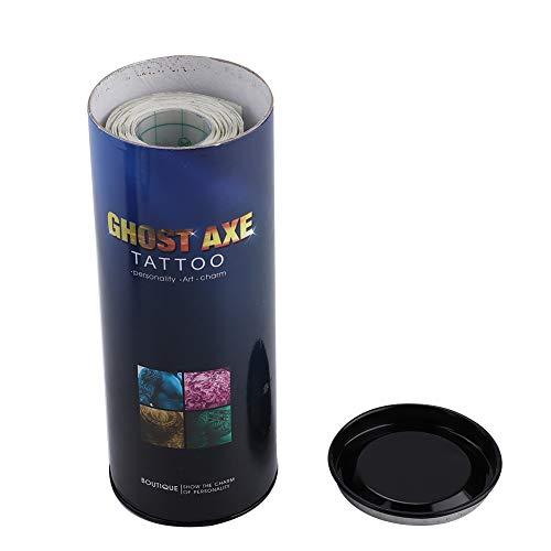 【Festa della mamma】 Autoadesivo autoadesivo per la riparazione del tatuaggio, accessori per tatuaggi traspiranti durevoli, negozio di tatuaggi per amanti del tatuaggio del salone di bellezza(5 me