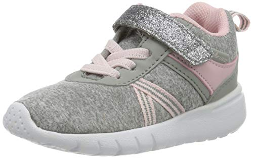Lico Cakes Vs, Sneakers Basses bébé Fille, Gris (Grau/Rosa Grau/Rosa), 24 EU
