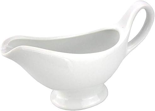 salsiera contenitore per succhi salsa per arrosti salsa s bianco bianco Dayoly Porcelain Traditional mini salsiera salsiera