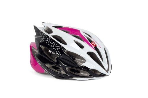 Spiuk Nexion - Casco de ciclismo, color fucsia / blanco / negro,...