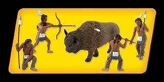 Scene-A-Rama SP4344 Scene Setters Diorama Kit, Native American Hunt Mini-Figures, Multicolor