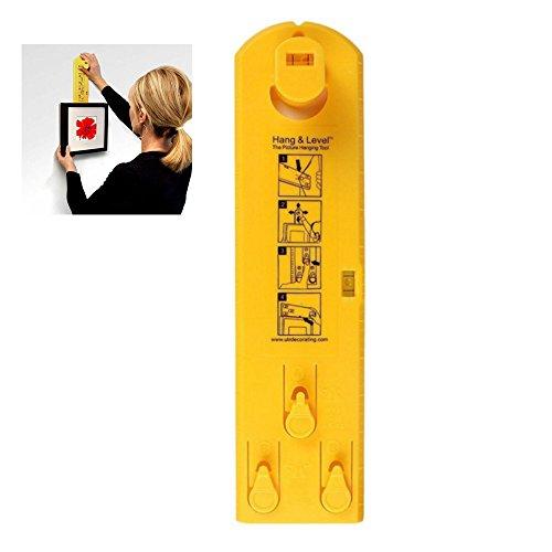 Picture Hängendes Werkzeug, Markierung Position Tools Aufhängung Messung für Fotos, Bildern, Uhren, Spiegeln und Leinwänden