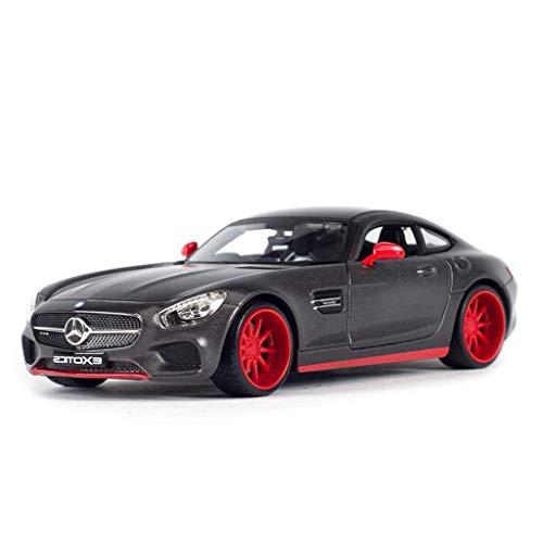 hclshops Coche Modelo de Coche 1:24 Mercedes Benz AMGGT Simulación de aleación de fundición a presión de Adornos de Juguete Sports Car Collection 19x9x5.5CM joyería